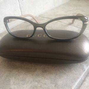 Authentic Brown Gucci Glasses